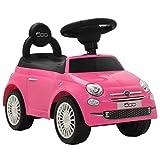 vidaXL Coche Correpasillos Rosa Vehículo Auto Carrito Juguete Juego Infantil