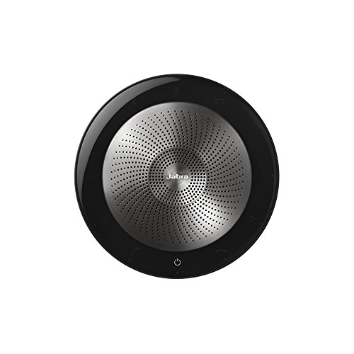 Jabra Speak 710 MS Wireless Bluetooth Speaker for Softphones and Mobile Phones – Easy Setup, Portable Speaker for Holding Meetings Anywhere with Immersive Sound, MS Optimized