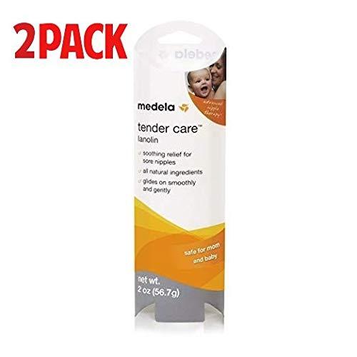 Lowest Price! Medela Tender Care Lanolin Nipple Cream for Breastfeeding, All Natural Hypoallergenic,...