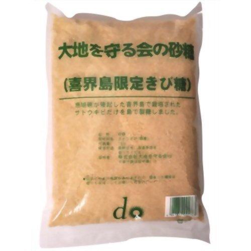 大地を守る会の砂糖喜界島限定きび糖1kg
