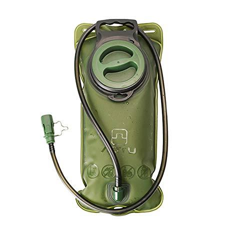 Etechydra Sacca Idrica da 2L Vescica per idratazione, Hydration Bladder per Ciclismo Escursionismo Corsa Zaini Porta Sacca Idratazione Acqua Backpack di Campeggio Serbatoio d'Acqua Verde