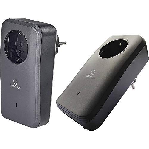 Renkforce PL600D Duo Powerline Einzeladapter Duo Set 500 MBit/s