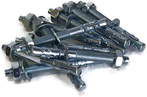 10 Stück LSB M16 16x175mm Schwerlastdübel Schwerlastanker Bolzenanker verzinkt Stalco