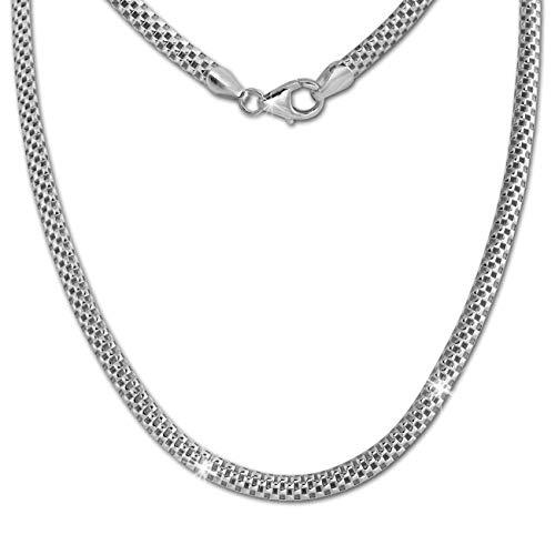 SilberDream Collier silber Damen Echt Halsschmuck 45cm 925 Silber SDK26445J