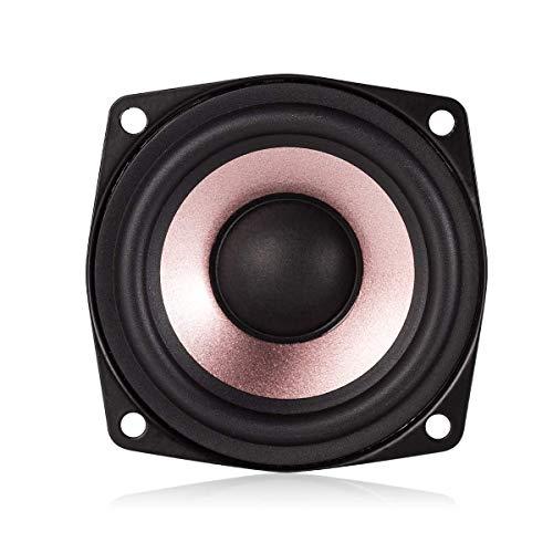Nobsound 1PC 2.5' inch Hi-Fi Desktop Full-Range Speaker High Sensitivity Speaker (4ohm)