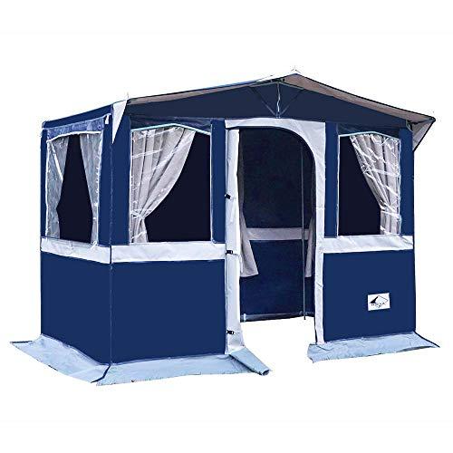 Hosa - Tienda Cocina Panama 300 de Camping con Ventanas - Fabricada en PVC Trevira Impermeable
