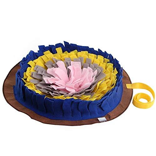 vocheer - Tappetino per cani di taglia piccola, lavabile in lavatrice, tappetino per attività di foraggiamento, antistress