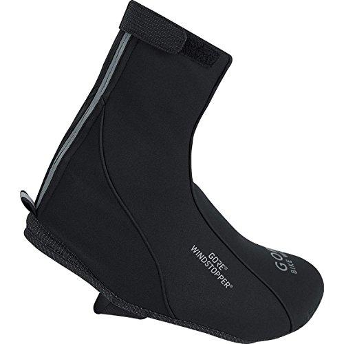 GORE BIKE WEAR Road Windstopper Soft Shell Termo - Botin de ciclismo, color negro, talla 36-38