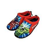 Avengers Sandalias Zapatos de Agua para Niños, Escarpines Antideslizantes, Zapatos de Playa Deportes Acuáticos, Aquashoes, Regalo para Niños, EU 28