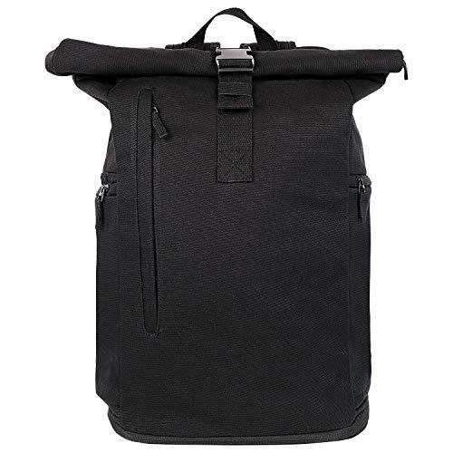 Multifunktionaler 20-30L Rolltop Rucksack aus Baumwolle-Canvas - Imprägnierter Herren Laptop Backpack - Handgepäck Business Daypack für Notebook