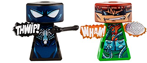 VS Rip-Spin Warriors Black Suit Spider-man vs Doctor Octopus 2 Pack