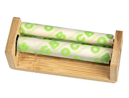 OCB Bamboo Roller Drehmaschine aus Bambus 70mm 3 Roller