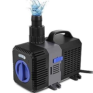 Bomba sumergible para estanque Speed Super ECO, bomba de filtro de bajo consumo, bomba de agua, bomba de arroyo, peces…