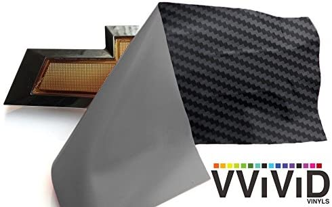 VViViD XPO Black Carbon Max 73% OFF Fiber Max 70% OFF Chevy Kit Roll 2 Logo Wrap Bowtie