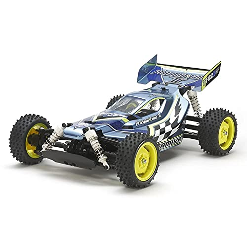 TAMIYA TAM58630 1:10 RC Plasma Edge II (TT-02B) - ferngesteuertes Auto - RC-Fahrzeug - Off Road Race Buggy - RC Bausatz - Elektromotor - unlackiert - 58630