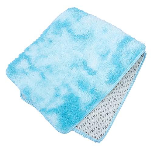 BESPORTBLE Furry Fluffy Shaggy Tapetes Tapete Do Assoalho Do Tapete para O Quarto Sala de Estar Sala de Crianças