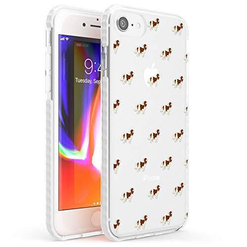 Cavalier King Charles Spaniel Modello Chiaro Impact Cover per iPhone 6 TPU Protettivo Phone Leggero con Animale Domestico Cucciolo Razza Animale