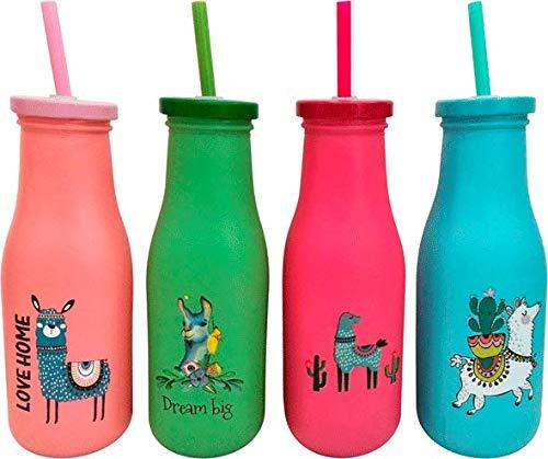 DISOK - Lote de 24 Vasos Termos Llamas. Termos de Llamas