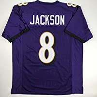 Unsigned Lamar Jackson Baltimore Purple Custom Stitched Football Jersey Size Men's XL New No Brands/Logos