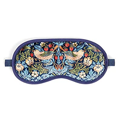 Morris & Co Velvet Lavender Eye Mask by Heathcote Ivory