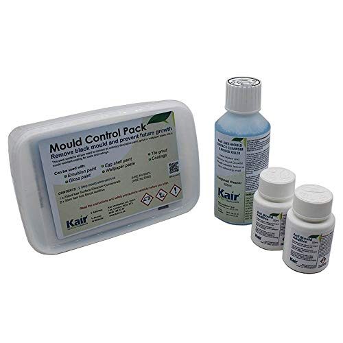 Kair Mould Control Pack - Special Offer Pack - 1x 250ml Mould & Mildew Killer Surface Cleaner & 2 x...