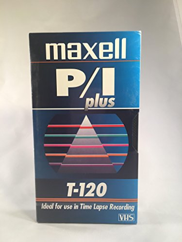 Best Price Maxell P/I Plus T-120 VHS, Pack of 10