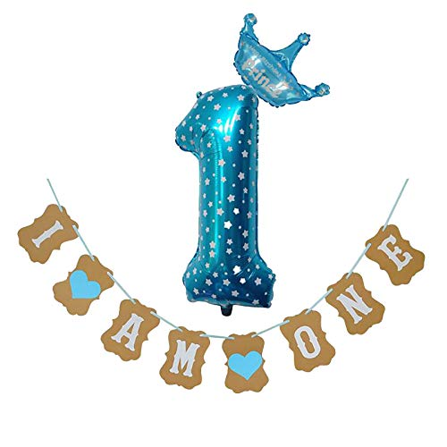 32inch Big 0-9 Number Balloons Air or Helium Party Balloon Multicolor Large Foil Mylar Number 0-9 Balloons for Birthday Party Anniversary Number Decorations (Number 0-9 32inch Multicolor )