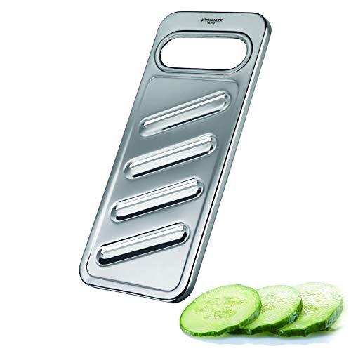Westmark Rallador de pepinos y verduras, acero inoxidable, Steel, plateado, 10062270