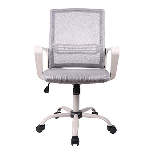 SMUGDESK Ergonomic Swivel Task Computer Desk Home...