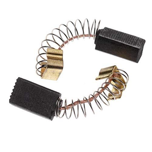vhbw 2x Escobillas de carbono 5 x 8 x 12,5mm compatible con Makita 4320, 6501, 9036, 9514B, 9514BH, UH3000 herramientas eléctricas