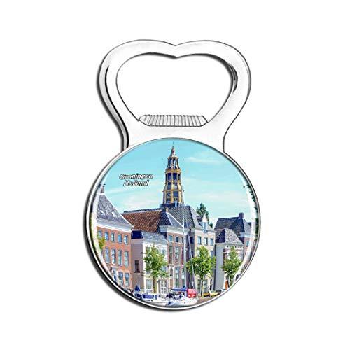 Weekino Holland Bourtange Groningen Kühlschrankmagnet Bier Flaschenöffner Stadt Reise Souvenir Sammlung Starker Kühlschrankaufkleber