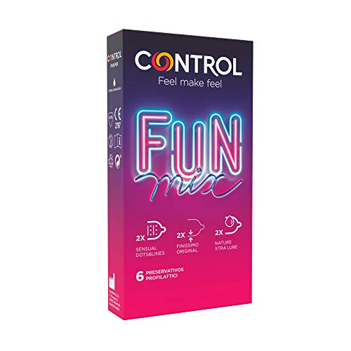 4. Preservativos Control Sensual Fun Mix
