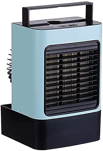 JYSXAD Vast con Control Remoto Air ner Fan Air Cooler Mini Three Gear Mode Ventilador de refrigeración Air Frost Air ner (Enfriador de Aire portátil)