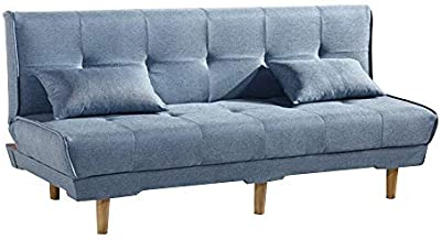 Amazon.com: Rivet Revolve Modern Upholstered Sofa with ...