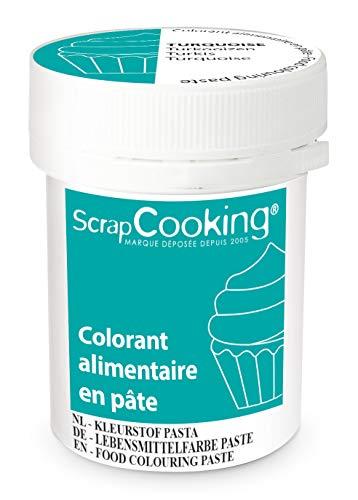 ScrapCooking Colorant en Pâte Turquoise 20 g