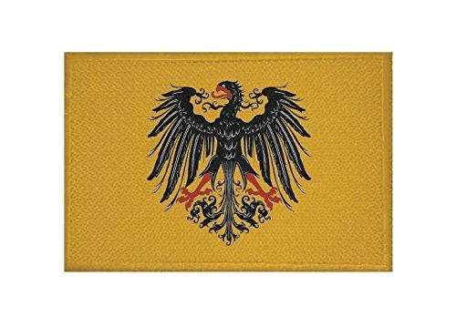 U24 Aufnäher Reichssturmfahne Heiliges Römisches Reich Deutscher Nation Fahne Flagge Aufbügler Patch 9 x 6 cm