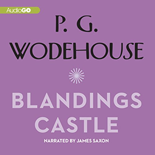 Blandings Castle audiobook cover art