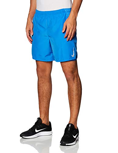 NIKE AJ7741-402 Pantalones Cortos Deportivos, Pacific Blue/Reflective Silver, XL Mens