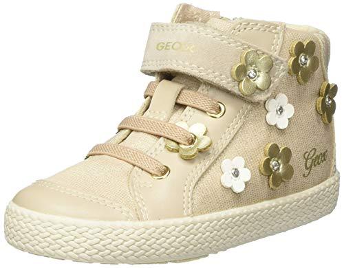 Geox Baby Mädchen B KILWI Girl B Sneaker, Beige (Beige C5000), 26 EU