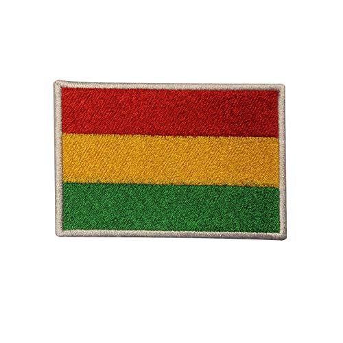 Real Empire Bolivien Nationalflagge Bestickt Aufnäher Bügelbild Aufbügler Badge Applikation Jacke T-Shirt Hut Patch