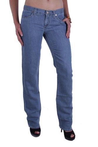 Versace VJC Damen Jeans Hose (blau, 27W / 34L)