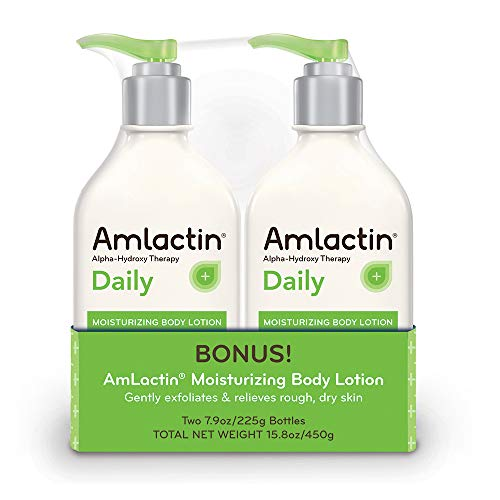 AmLactin Daily Moisturizing Body Lotion | Instantly Hydrates, Relieves Roughness | Powerful...