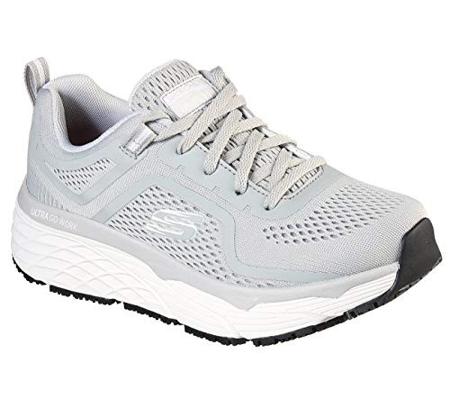 Skechers - Womens Elite Sr- Banham Shoe, Size: 10 M US, Color: Gray