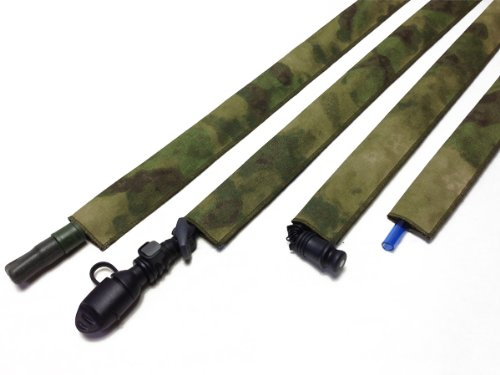 A-TACS FG Hydration Pack Drink Tube Cover by Hydration Tube Covers