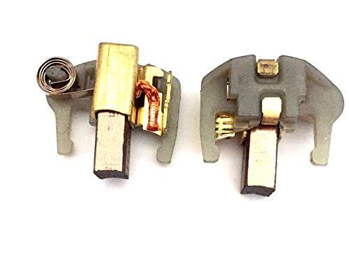 MGE escobillas de carbón Gomes, Compatible DeWalt DC 920 K (Type10) DC 925 K (Type10) DC 930 K (Type10)