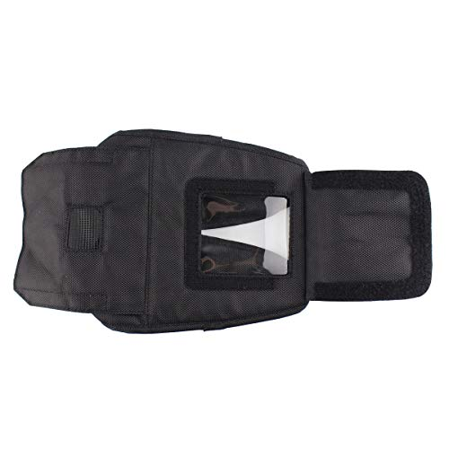 Carrying Case for Zebra QLN420 Printer, Fabric Soft Case Holster for QLN420 Mobile Printer w/Shoulder Strap