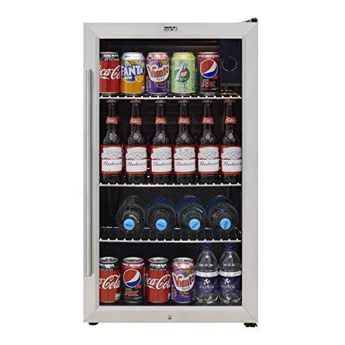 Baridi Under Counter Wine/Drink/Beverage Cooler/Fridge, Built-In...