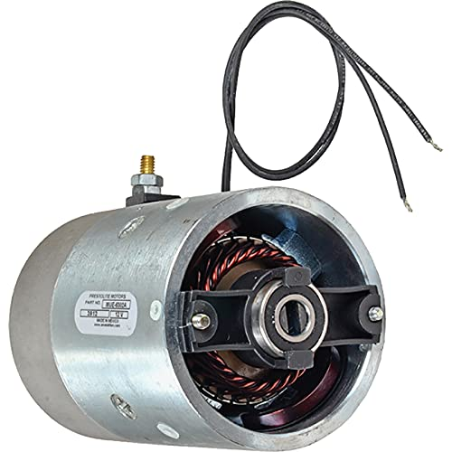 New DB Electrical MUE6302A 12V Prestolite DC Motor Compatible With/Replacement For Monarch/Bucher Various CCW Rotation 08045, 08045P, 50020500804516 PRL-MUE6302A