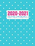 2020-2021 Daily Weekly and Monthly Planner: Pretty Two Year Jan 1, 2020 - Dec 31, 2021 Calendar Organizer and Appointment Schedule Agenda Journal for ... - 24 Months Planner - Creative AG 0032