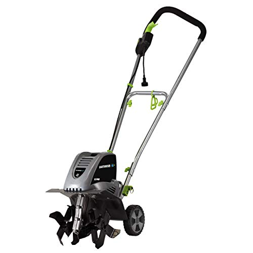 Earthwise TC70001 11-Inch 8.5-Amp Corded Electric Tiller or Cultivator